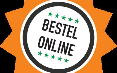 Online bestellen tijdelijk mogelijk